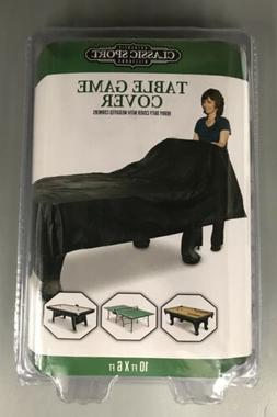 Large Game Table Cover for Pool Billiards Hockey Table Tenni