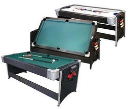 GLD Pockey 2 in1 Combination Game Table - Pool Table, Air Ho