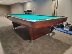 Brunswick Gold Crown I Pool Table 9 FOOT restored in custom