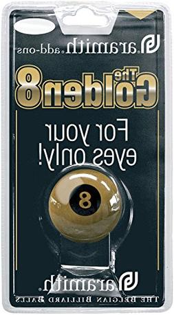 ARAMITH QUALITY 2 1/4 SIZE NO 8 GOLDEN POOL BALL by Aramith