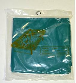 LGS 7FT GREEN NYLON WEIGHTED POOL TABLE COVER