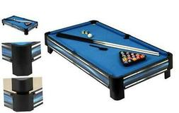 Hathaway Breakout 40-in Tabletop Pool Table, Blue