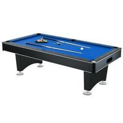 Hathaway Hustler Pool Table, Blue, 8-Feet