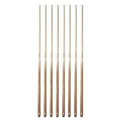 Set of 8 Valley House Bar Pool Cue Sticks