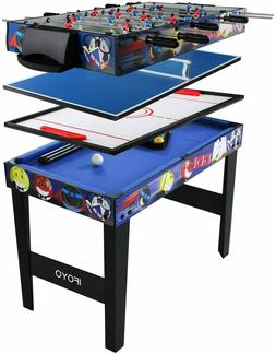 IFOYO Multi Function 4 in 1 Combo Game Table, Steady Pool Ta