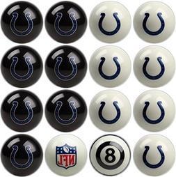 Indianapolis Colts NFL Home vs. Away Billiard Balls Full Set