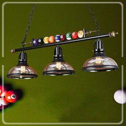 Industrial Billiard Pendant Light Chandelier Pool Table Dini