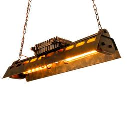 Industrial Retro Chandelier Wrought Iron Pool Table Pendant