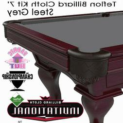 Championship Invitational Teflon Woolen Billiard Pool Table
