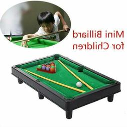 Kids Xams Gifts Pool Table Game Toys Tabletop Snooker Billia
