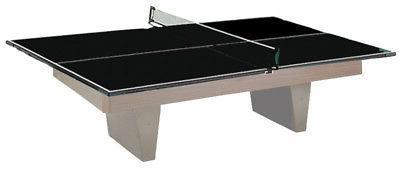 2 in 1 Table Tennis Conversion Top Converts Billiard Pool Ta