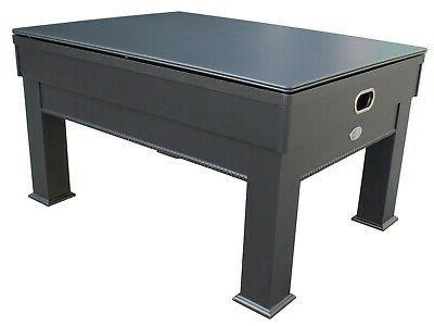 3 1 SLATE BUMPER POOL TABLE +CARD/POKER GAME & DINE-THE WESTON BLACK