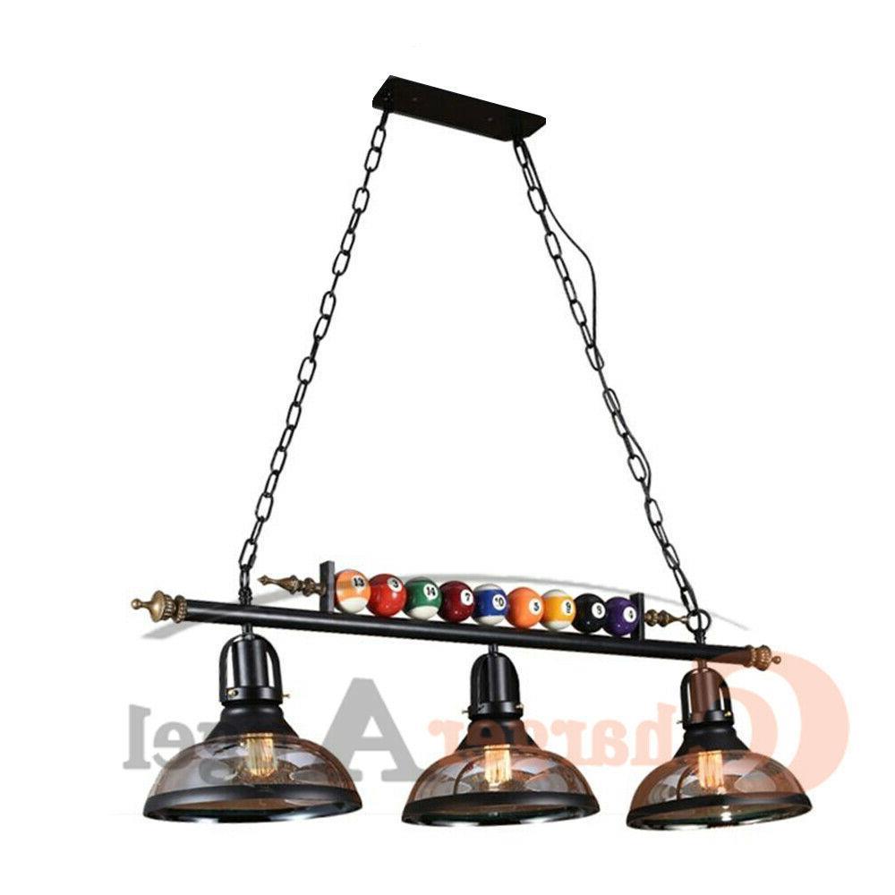 "39"" Hanging Pool Table Lights Fixture Billiard Pendant Lamp"