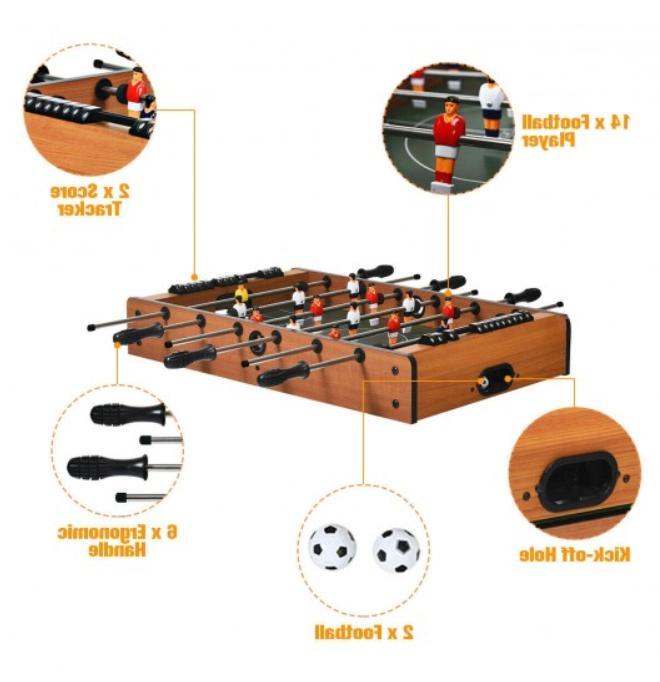 4 1 Game Hockey Pool Billiard Ping Pong Fun From US