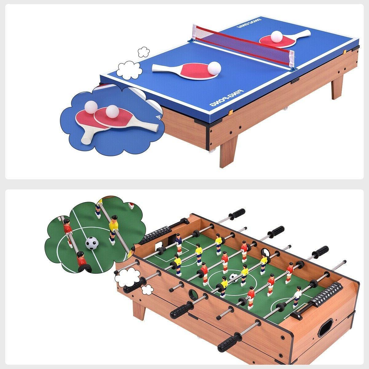 4 Multi Game Swivel Billiards/Pool, Tennis