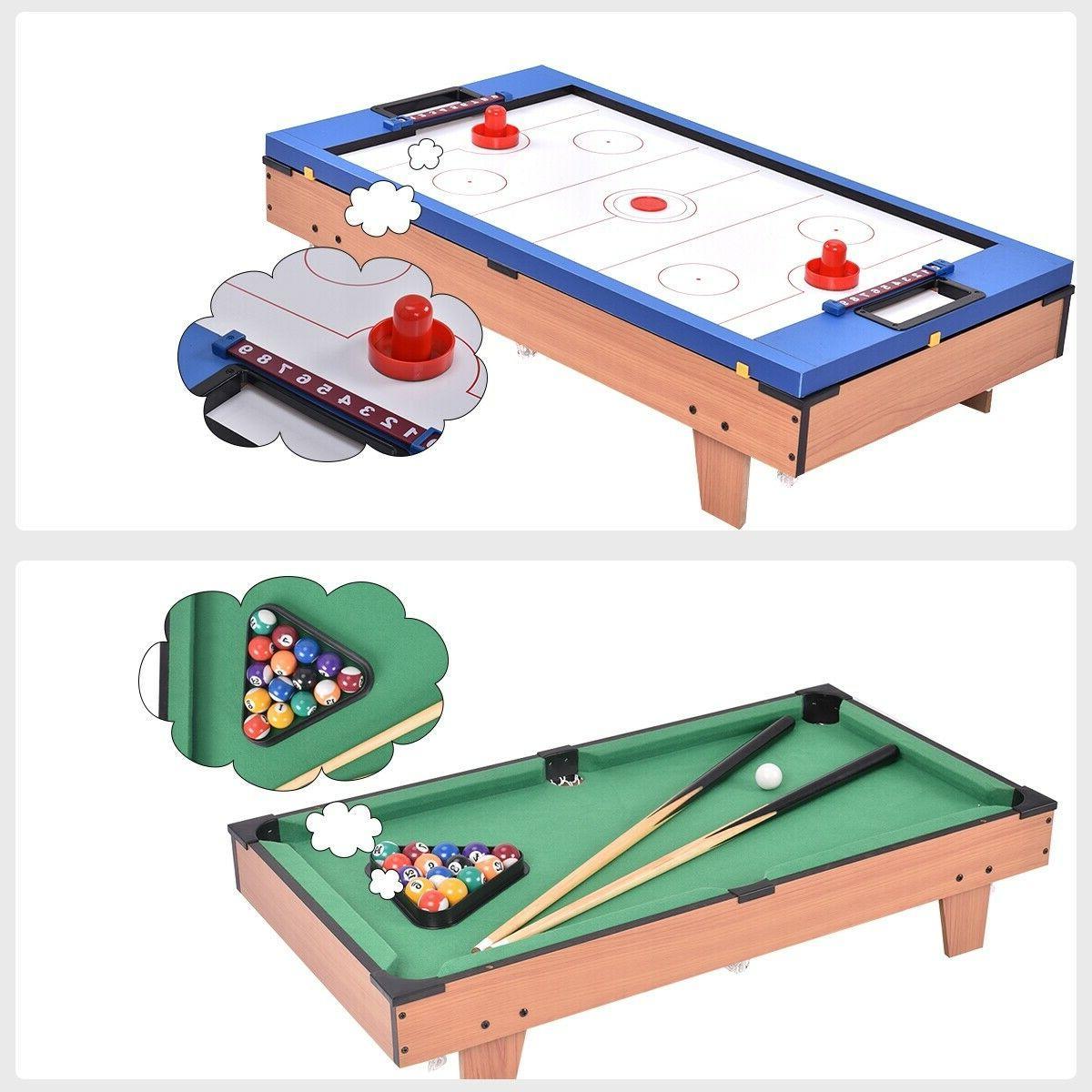 4 1 Game Billiards/Pool, Foosball, Tennis