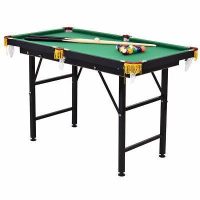 "47"" Pool Billiard w 2 Rack and"
