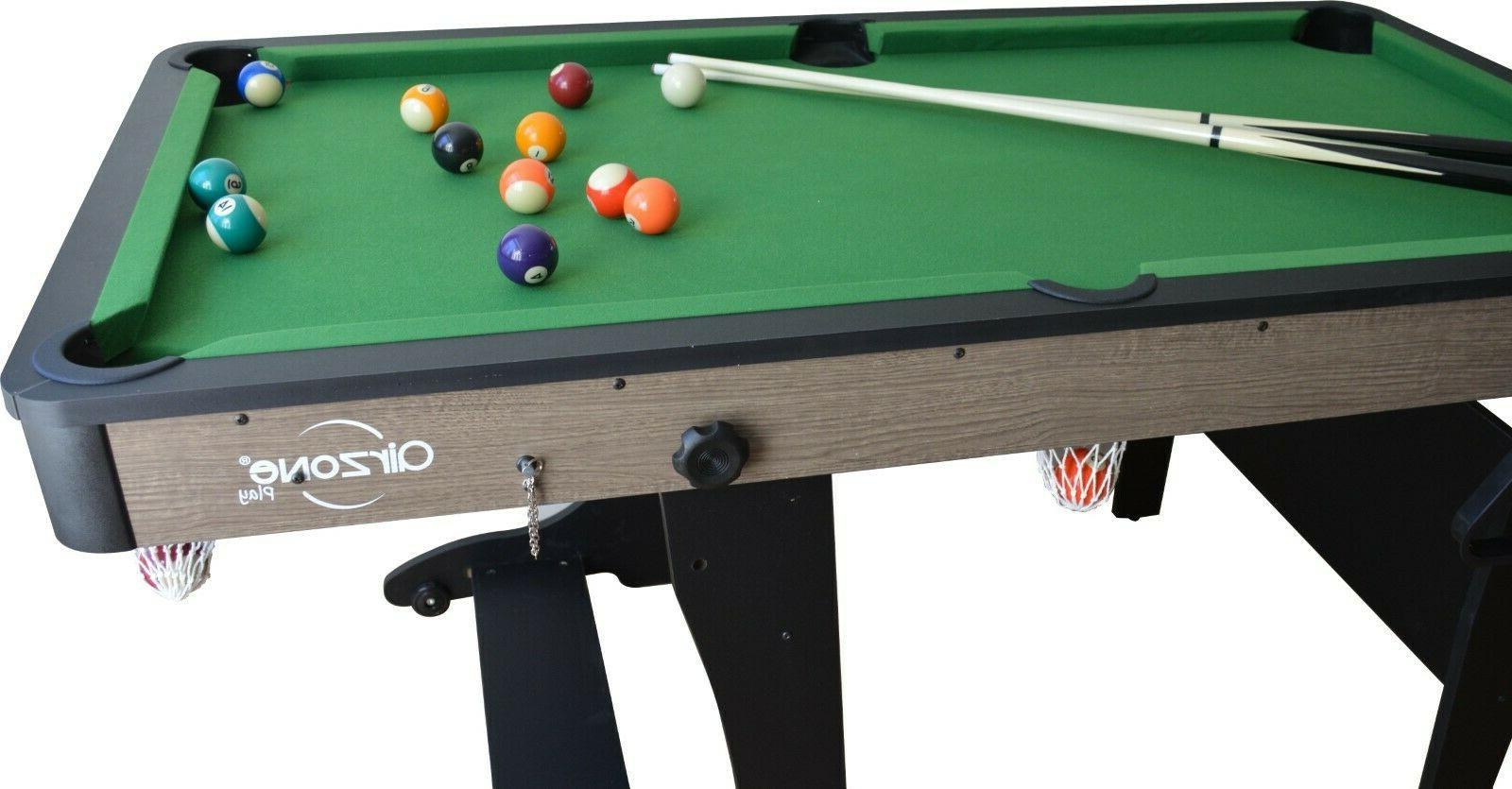 5' Pool Table Home Game Kids Play Games