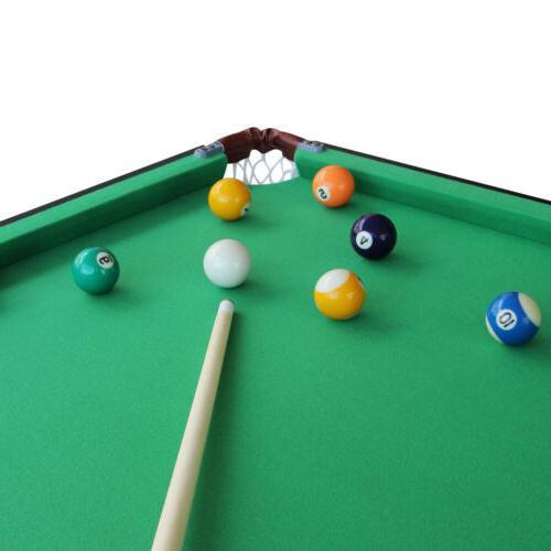 55 Folding Table Space Saving Pool Table Play Set