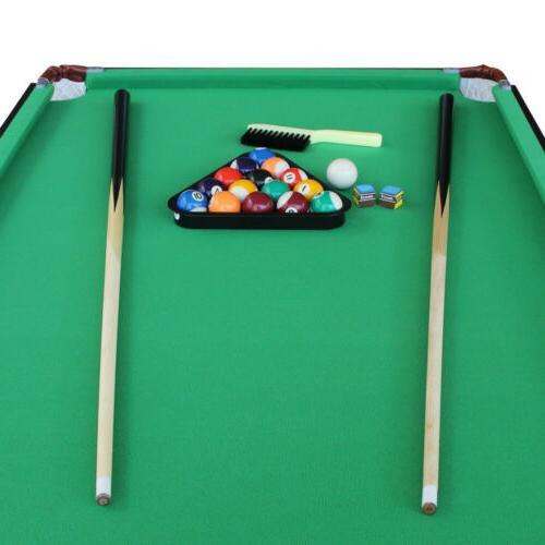 55 Table Saving Pool Table with Balls Set