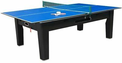 6 1 COMBO GAME TABLE PONG~ROULETTE~POKER~DINING ~