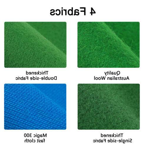 7/8/9/FT Worsted Pool Table Cloth Billiard Felt Mat Cover Fa