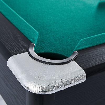 "7 Billiards Table 84"" w/ Cue Dartboard Game"