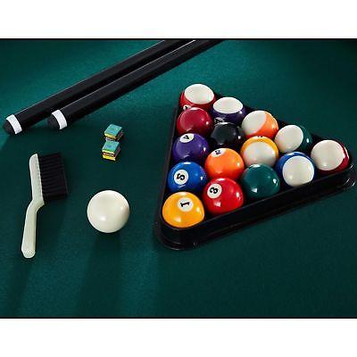 7 Foot Billiards Table Cue Sticks, Balls Bonus Dartboard Game