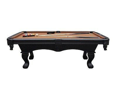 7 foot FURNITURE STYLE POOL TABLE by BERNER BILLIARDS