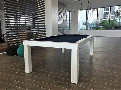 7' LUXURY CONVERTIBLE POOL TABLE Desk Fusion