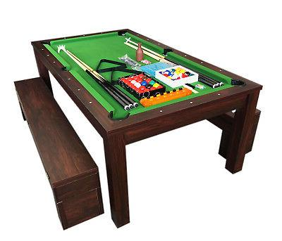 7ft pool table billiard green became a
