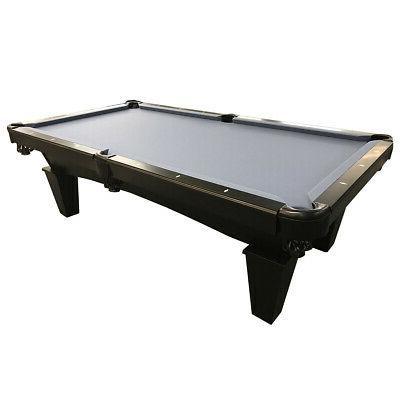 8 mustang pool billiards table black onyx