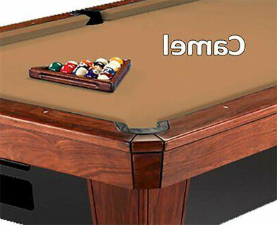 8 oversized 860 camel billiard pool table