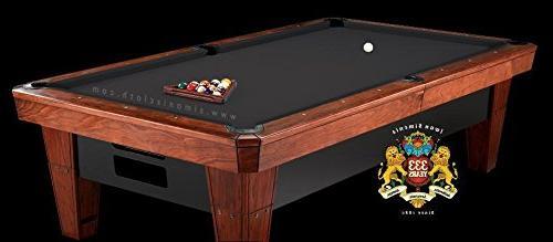 8 Simonis 860 Pool Table Cloth Black