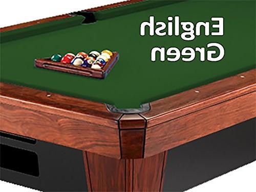860 english green pool table