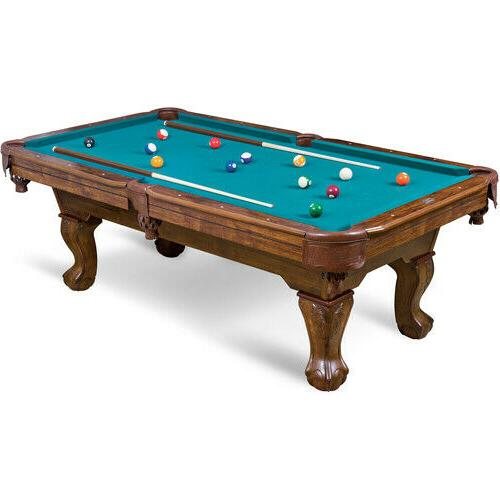 87-Inch Billiard Table Set Family Game Room Bar