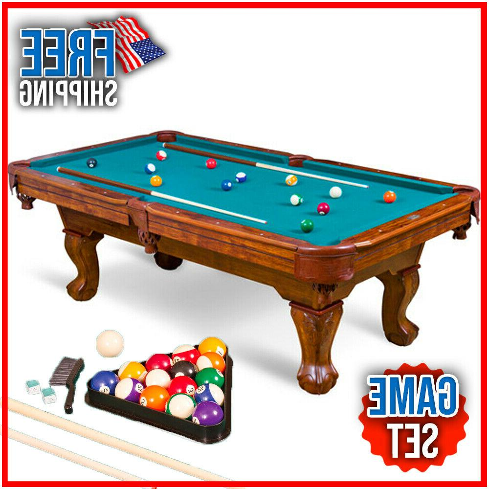 87 inch brighton billiard pool table set
