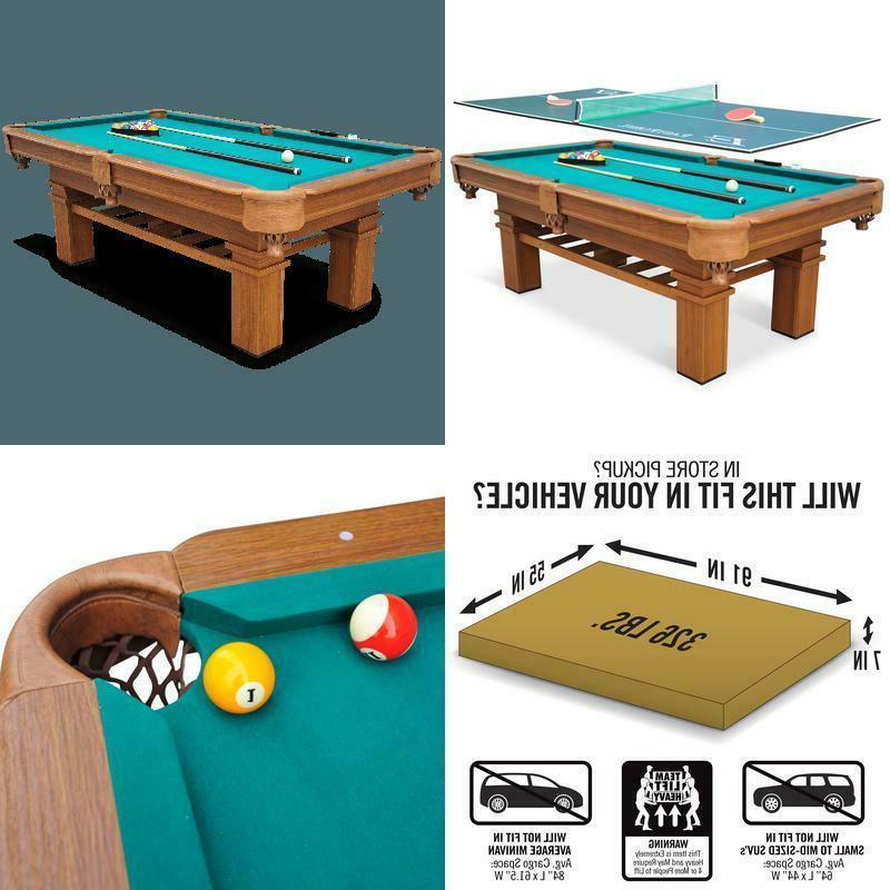 87 sinclair billiard pool table with table