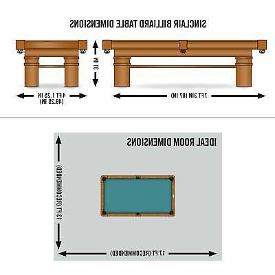 EastPoint Billiard Table Table Tennis