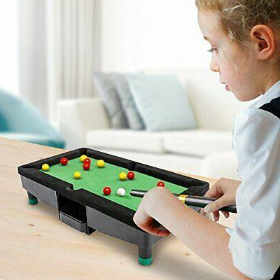 9 Inch Travel Pool Table for by 16 Balls - Co