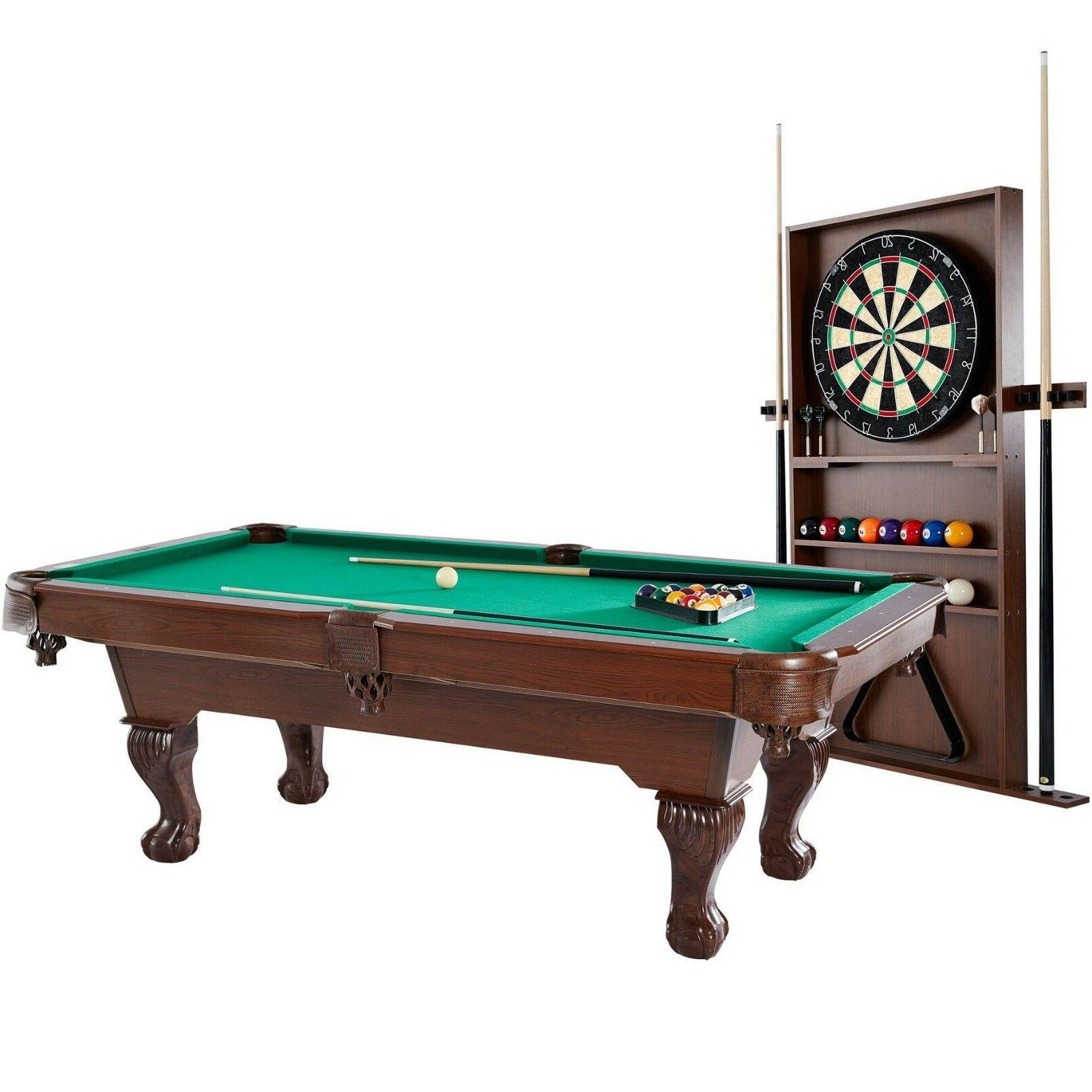 90 inch ball and claw leg billiard