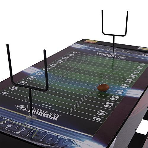 Triumph 4-in-1 Multigame Table Air Hockey, Billiards, Table and Launch Football