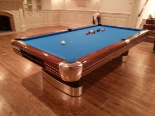 Brunswick x pool table fully restored