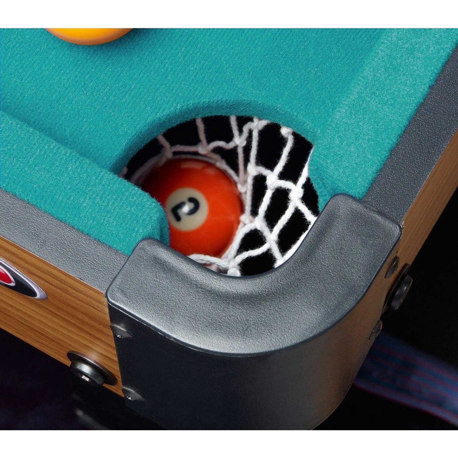 "Playcraft Sport Bank 40"" Pool Green Cloth"