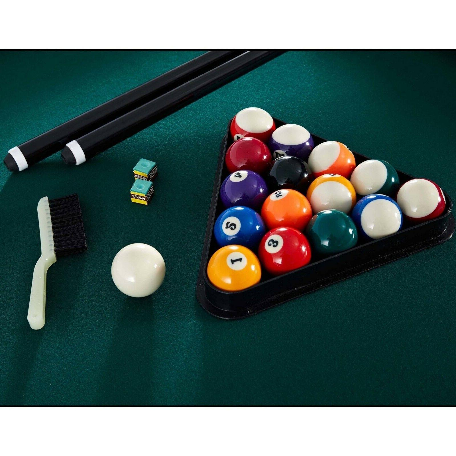 Pool 84-inch Billiard Cues Table Bonus Set