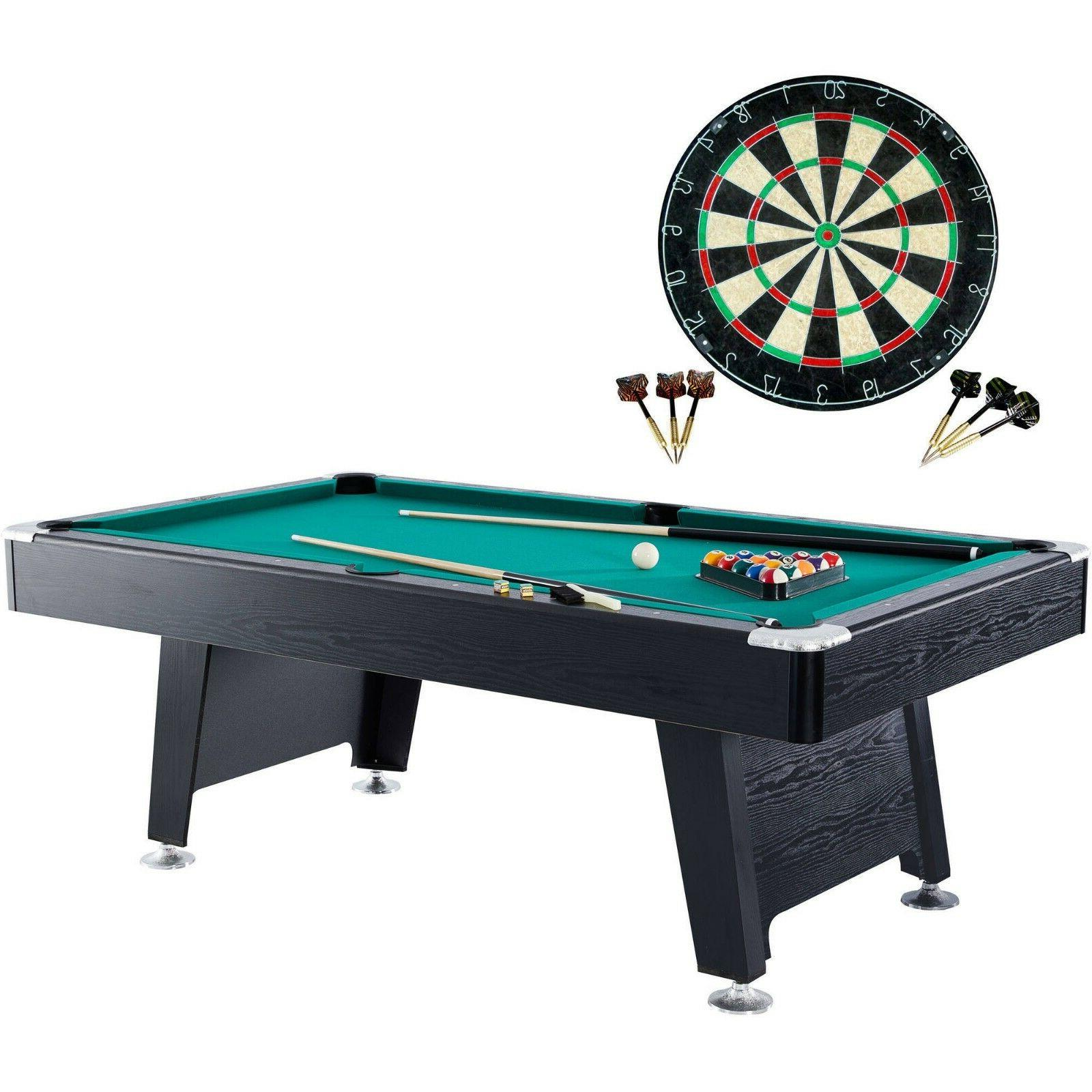 Pool Room 84-inch Billiard Table With Set