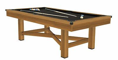 Billiard Table Game Room Full Size Pool Snooker Tables w/ Ac