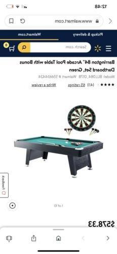billiard table pool 84 dartboard