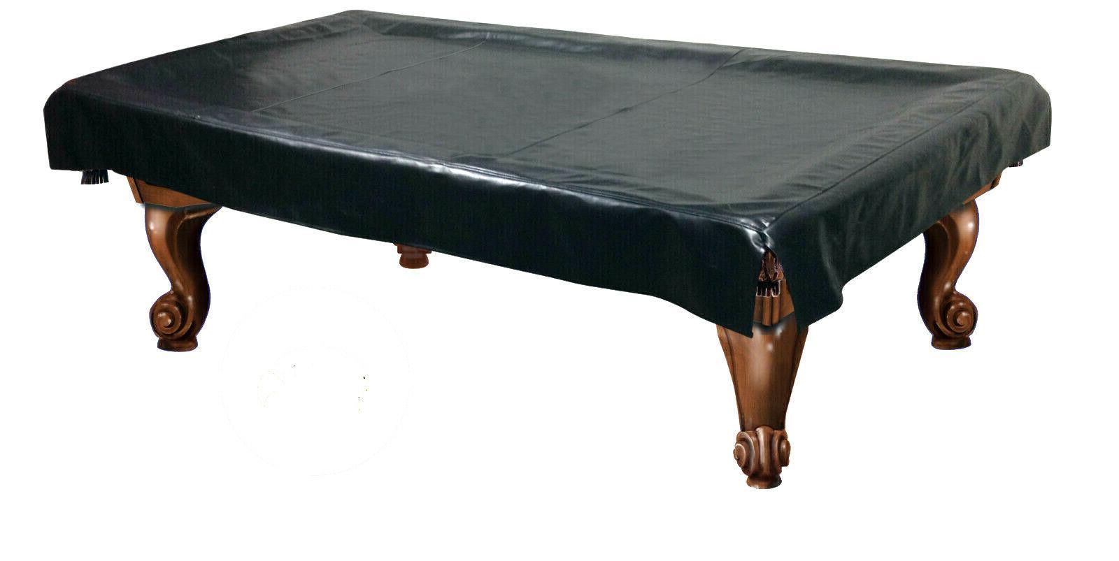black billiard table cover pool heavy duty