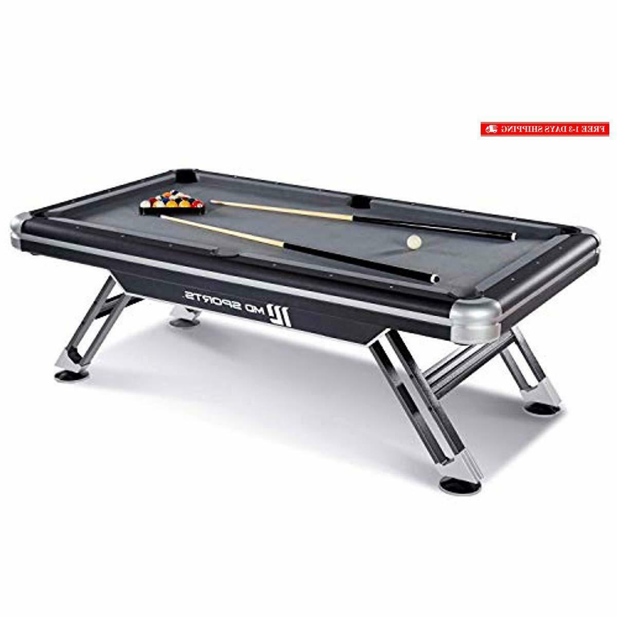 bll090 147m titan pool table black 7